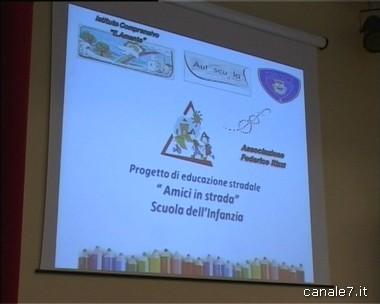 """Progetto educazione stradale """"Amici in strada"""" – regole e sicurezza. La conferenza di Mercoledì 24 Aprile"""