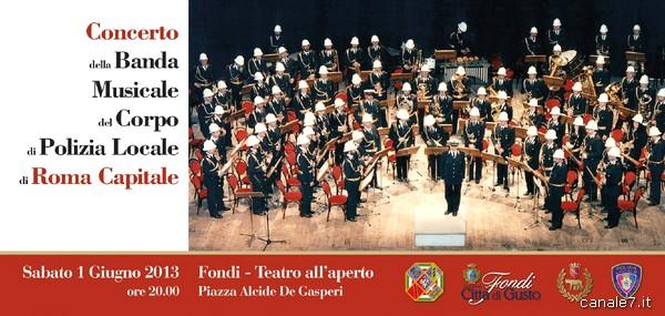 Concerto Banda Musicale del Corpo di Polizia Locale Roma Capitale