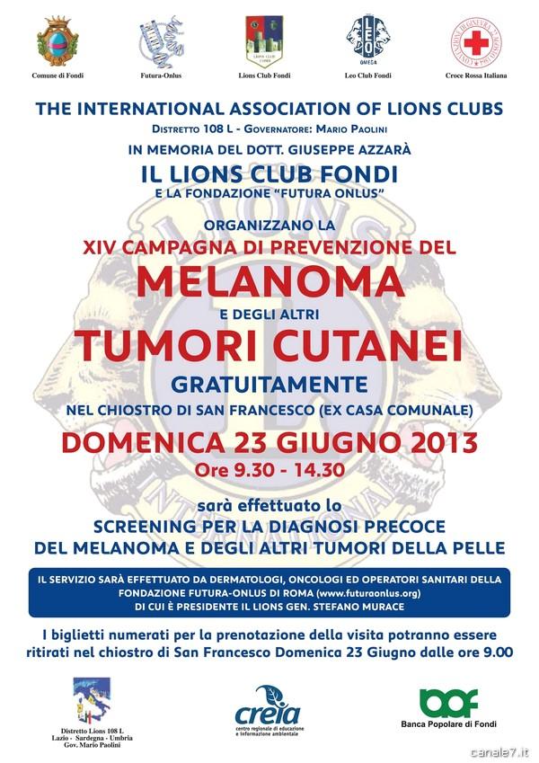 70x100 Melanoma 2013