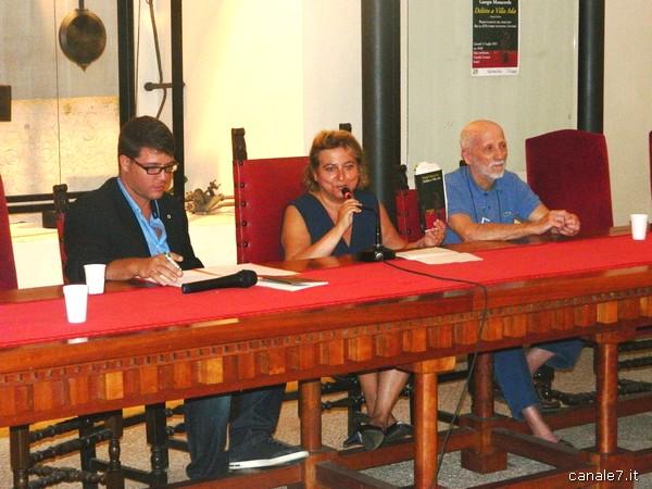 da sx Simone Nardone, Bruna D'Ettorre e Giorgio Manacorda_comp