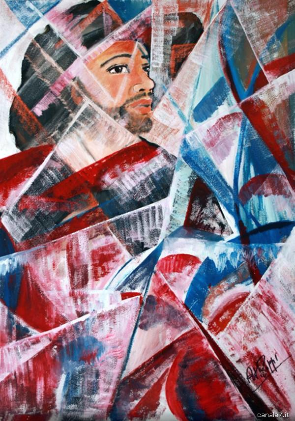 Anna Maria Zoppi - Michele Pezza - fra Diavolo- olio su tela 100x70_comp