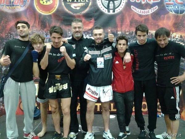 Team Pontino kick boxing_comp