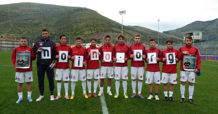 Il Fondi Calcio al fianco delle donne: No alla violenza!