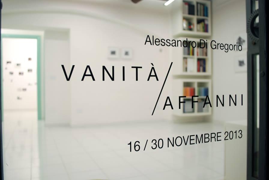 Vanità / Affanni, la mostra dell'artista Alessandro Di Gregorio