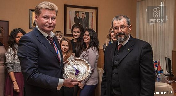 Angelo Macaro accolto da Serghey Naumenkov_comp