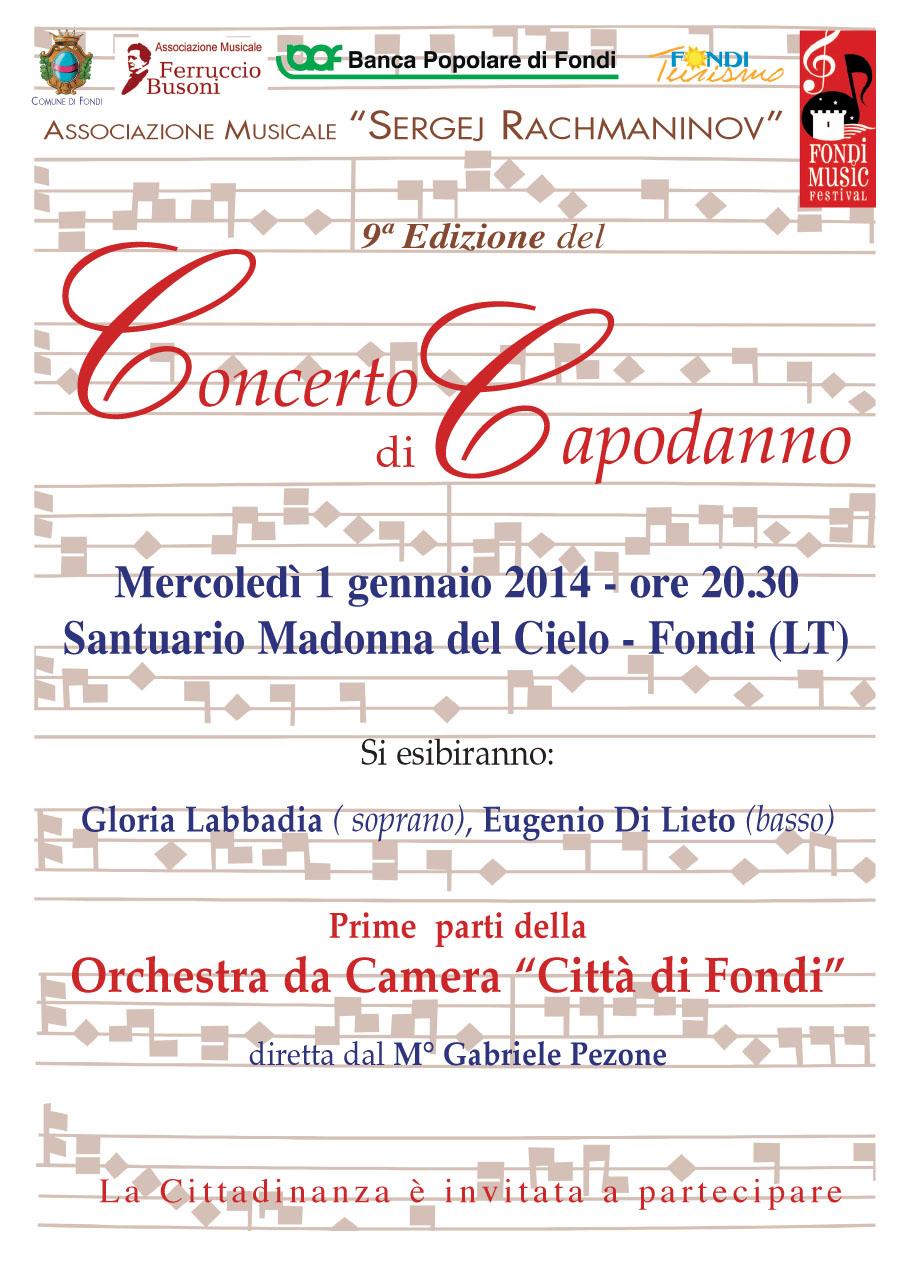 Torna l'atteso 'Concerto di Capodanno Città di Fondi'