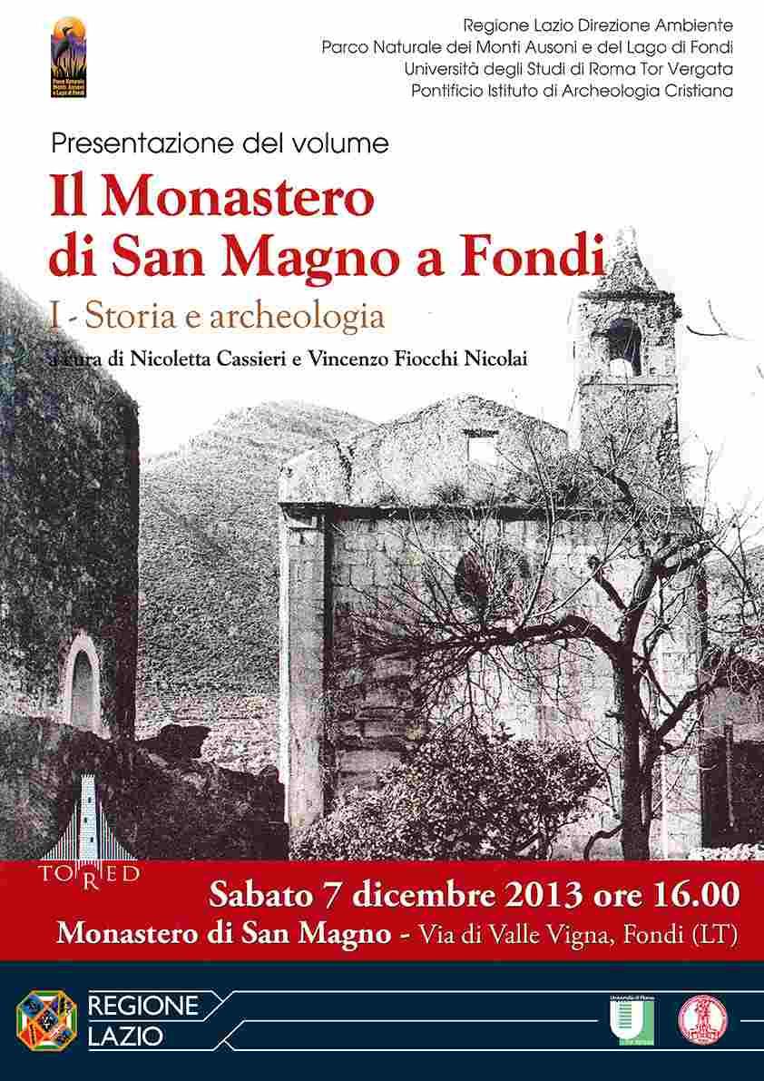 Monastero di San Magno, un volume ne racconta storia e archeologia