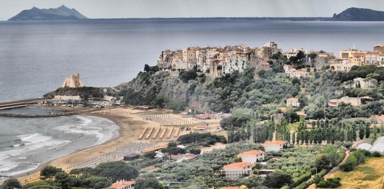 Foto panoramica Sperlonga