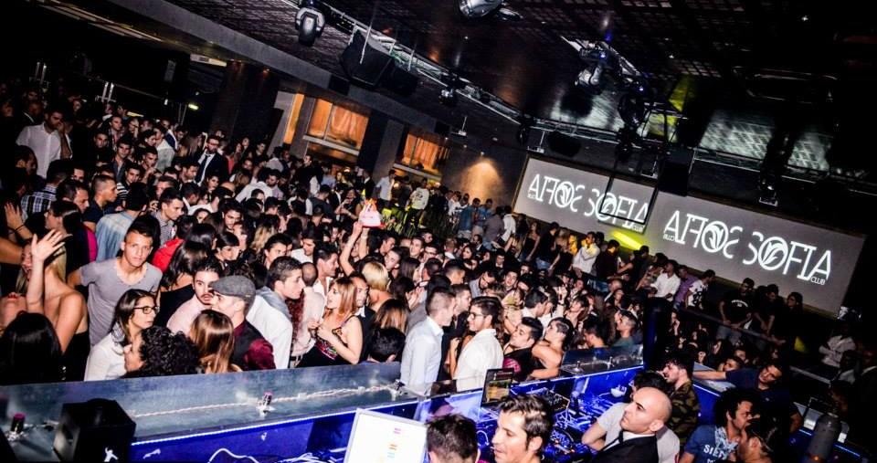 Closing party per il Sofia Club