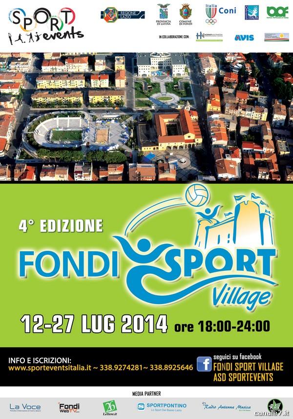 Fondi Sport Village, l'edizione 2014 raddoppia