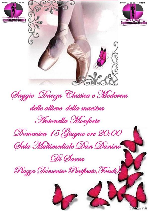 """Extrêmement Saggio di Danza Classica e Moderna del Centro Fitness """"Gymnastic  TY75"""