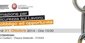 Invito Evento OPP-Un. La Sapienza
