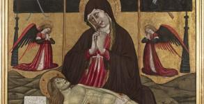 Pietà di Giovanni da Gaeta - chiesa S. Maria - Fondi