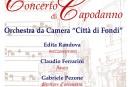 Concerto di Capodanno diretto dal M° Gabriele Pezone: Giovedì 1° Gennaio 2015, ore 21.00 – Santuario della Madonna del Cielo