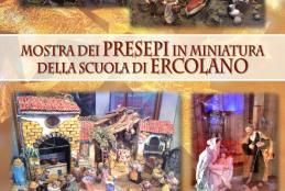 Mostra di Presepi artistici a cura dell'Associazione Italiana Amici del Presepio – sede di Ercolano: Castello Caetani, tutti i giorni fino a Domenica 11 Gennaio 2015