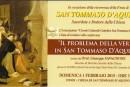 Il problema della verità in San Tommaso D'Aquino
