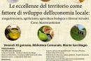 Eccellenze locali ed economia, il convegno a Monte San Biagio