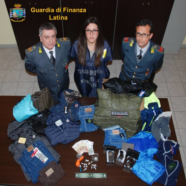 Cp. FONDI - Arresto e Sequestro Guardia di Finanza Latina
