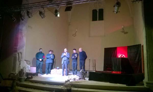 Giovanni Pannozzo Salvatore De Meo Giuseppe Simeone - spettacolo olocausto gen 15