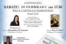 """Conferenza """"Autostima = Successo"""" della dott.ssa Pina Li Petri – Sabato 28 Febbraio 2015, ore 17.30 – Sala convegni Castello Caetani"""