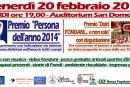 """Premi: """"Persona dell'anno 2014""""  e """"Dolci Fondani"""""""