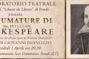 """""""50 sfumature di Shakespeare""""… omaggio al celebre drammaturgo nel 450° anniversario della nascita"""