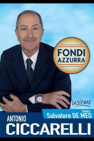 Manifesto Antonio Ciccarelli Fondi Azzurra
