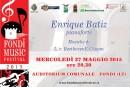 Fondi Music Festival – Recital pianistico di Enrique Batiz