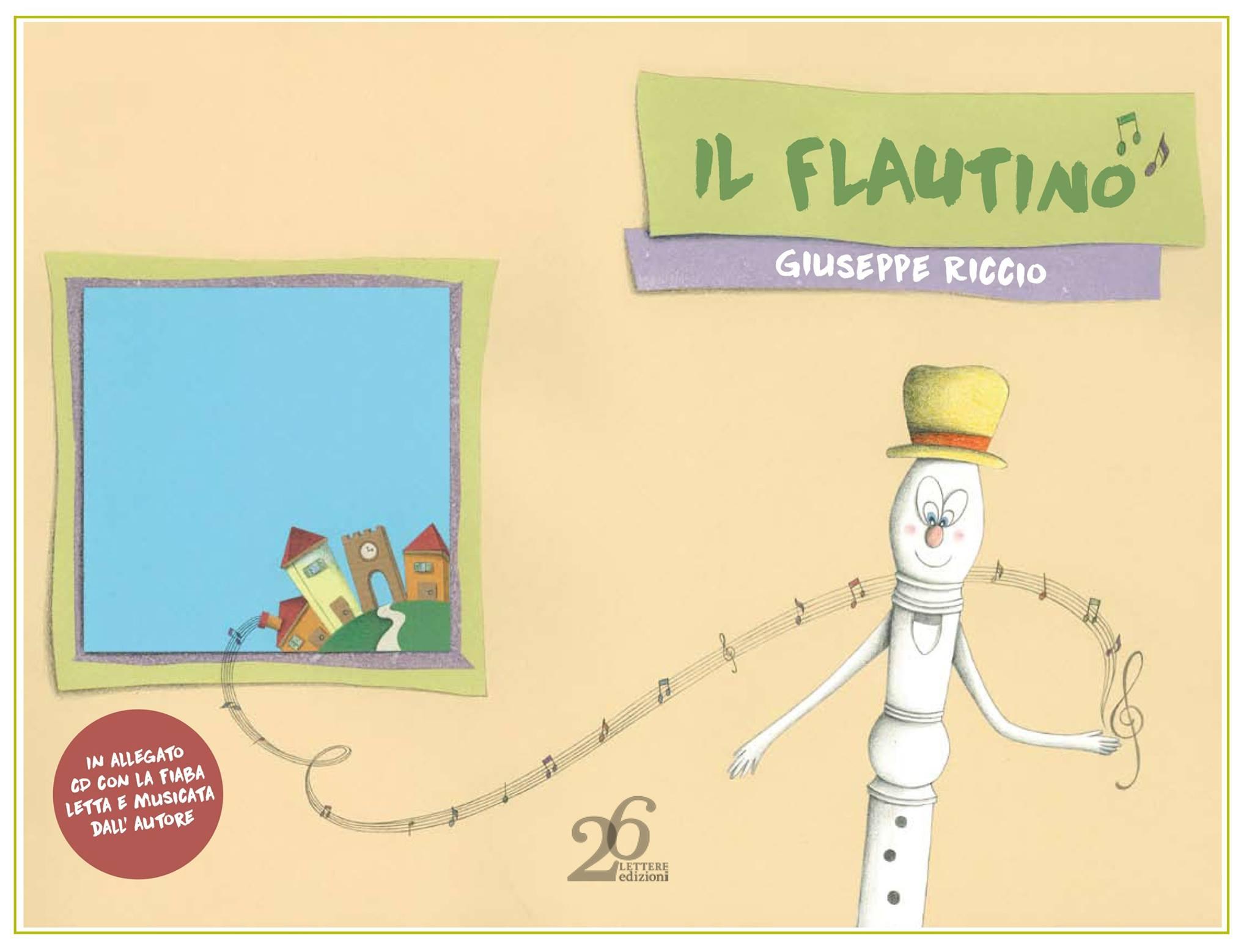 copertina Il flautino di Giuseppe Riccio