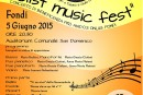 Concerto di beneficenza pro A.N.D.O.S. di Fondi: Venerdì 5 Giugno ore 20.30 Auditorium comunale
