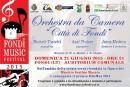 """Concerto Orchestra da Camera """"Città di Fondi"""" diretta da Jesus Medina: Domenica 21 Giugno ore 21.00 – Auditorium comunale"""