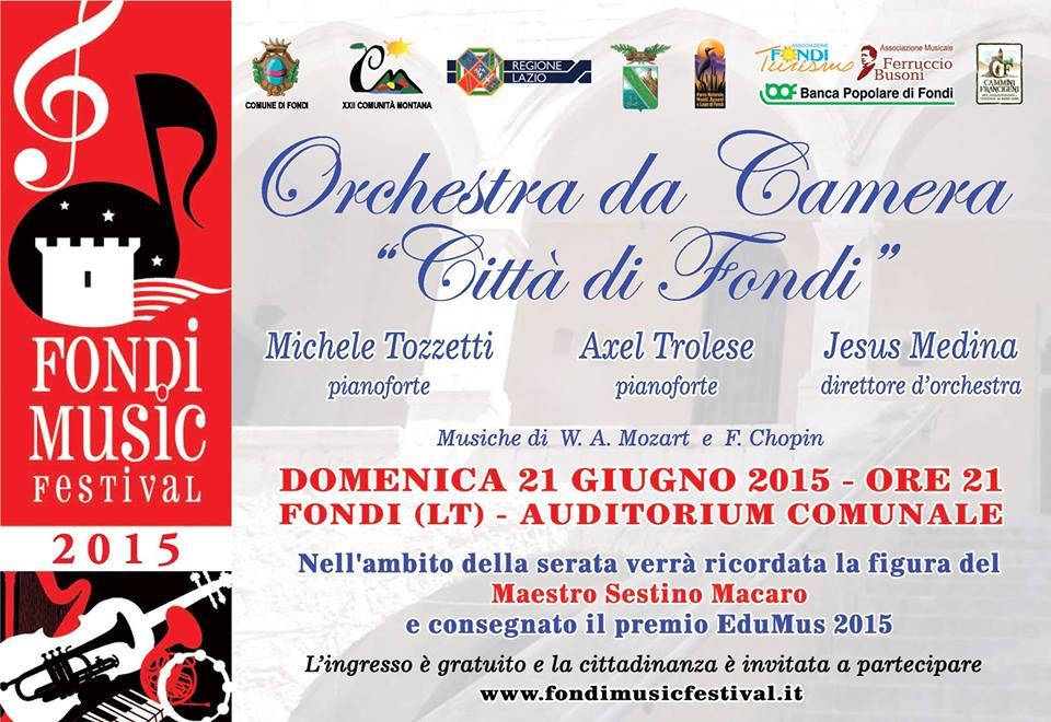 SLIDE CONCERTO ORCHESTRA CITTA' DI FONDI 21GIU2015