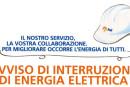 Lavori ENEL: interruzione energia elettrica in alcune strade cittadine – Lunedì 15 Giugno 2015