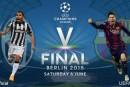 Maxischermo in piazza De Gasperi per la finale di Champions League Juventus-Barcellona: Sabato 6 Giugno dalle ore 20.45