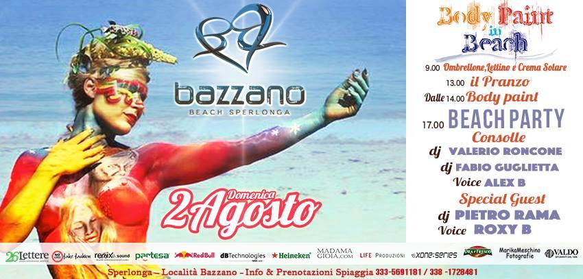 Bazzano Beach Flyer 2 agosto 2015