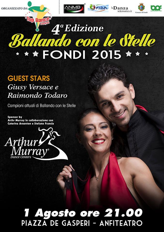 LOCANDINA BALLANDO CON LE STELLE FONDI 2015  -2