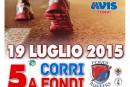 """V edizione """"Corri a Fondi"""" – Gara podistica di 10 Km: Domenica 19 Luglio 2015"""