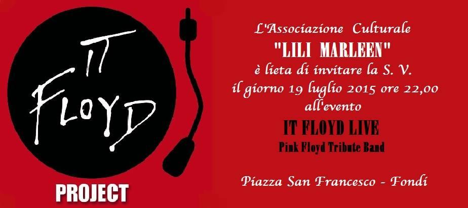 SLIDE IT FLOYD LIVE P.ZZA S. FRANCESCO - 19LUG2015