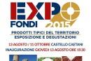 """Cresce l'attesa per """"Fondi EXPO 2015"""": dal 13 Agosto all'11 Ottobre 2015 – Sala espositiva del Castello Caetani. Oggi, 13 ago, inaugurazione con degustazione gratuita"""
