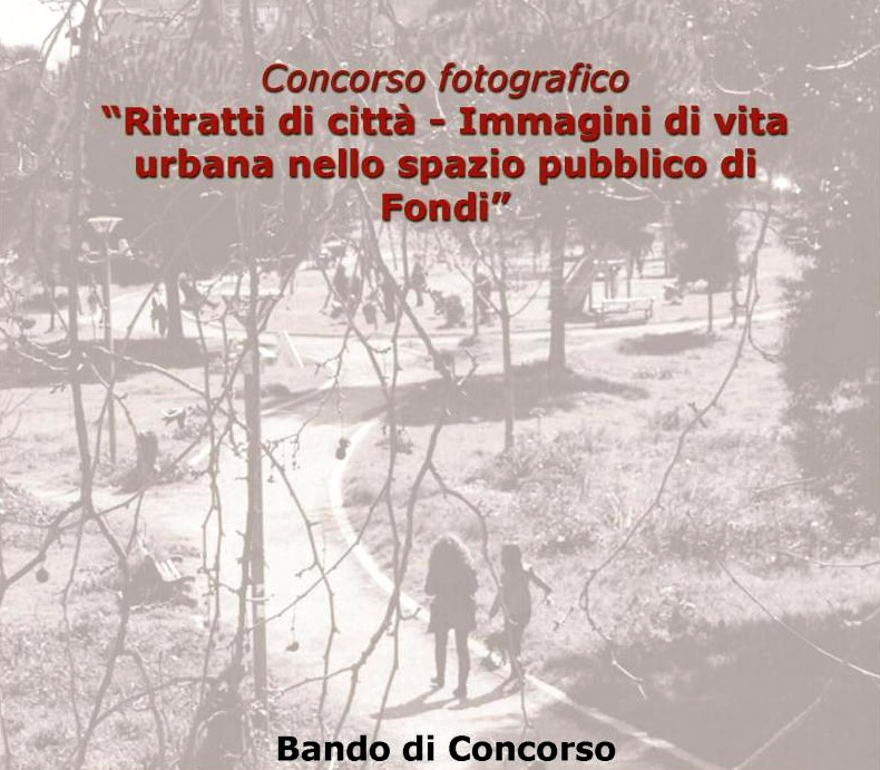 SLIDE CONCORSO FOTOGR RITRATTI DI CITTA' FONDI