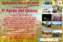 """""""Festa del Grano"""" – V edizione: 8 e 9 Agosto 2015 Agriturismo Tenuta Mirabello sul Lago di Fondi"""