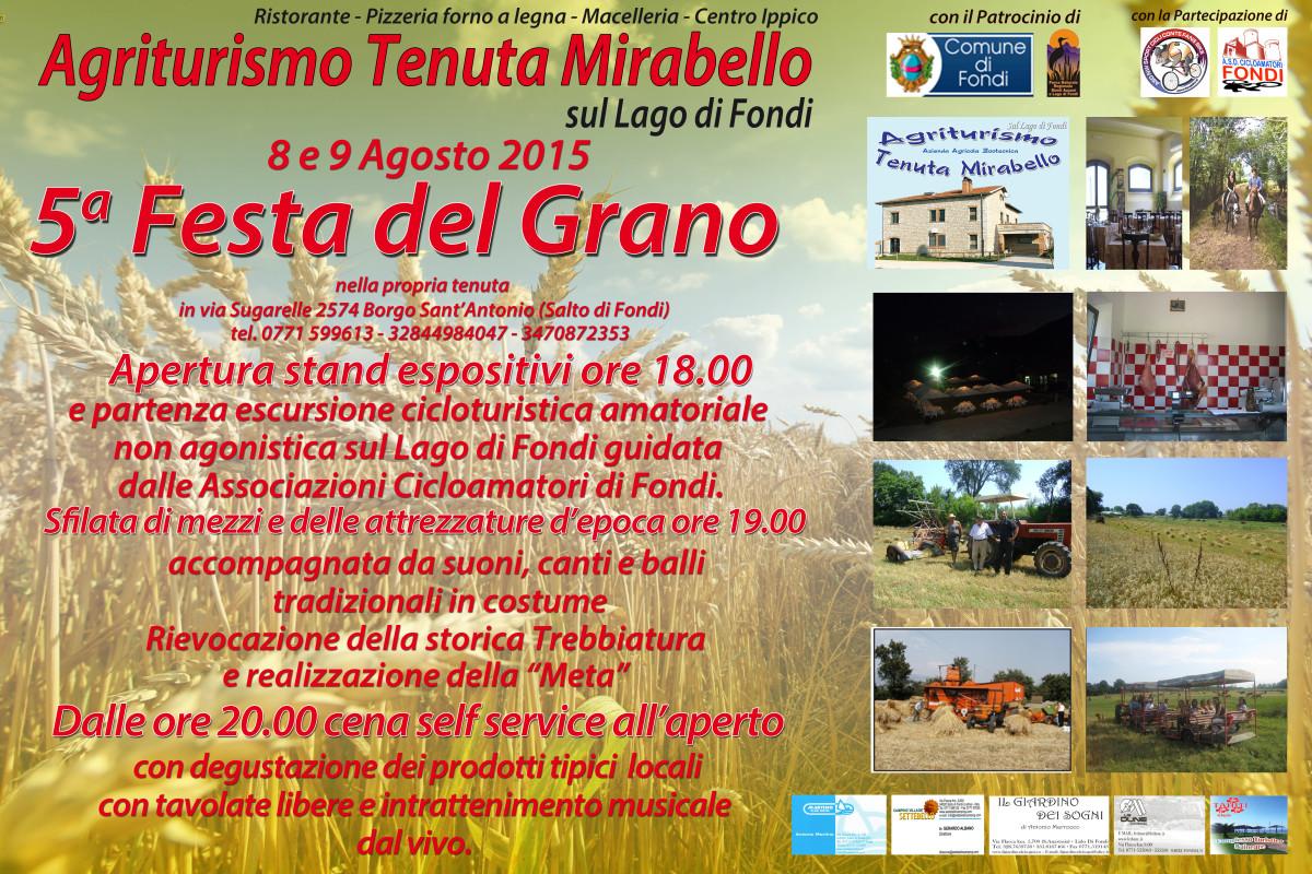 Slide Festa del grano 2015 Tenuta Mirabello