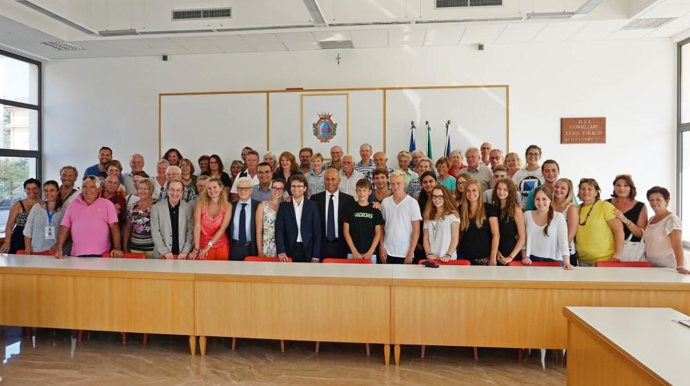 Incontro con delegazione Dachau 1-9-15