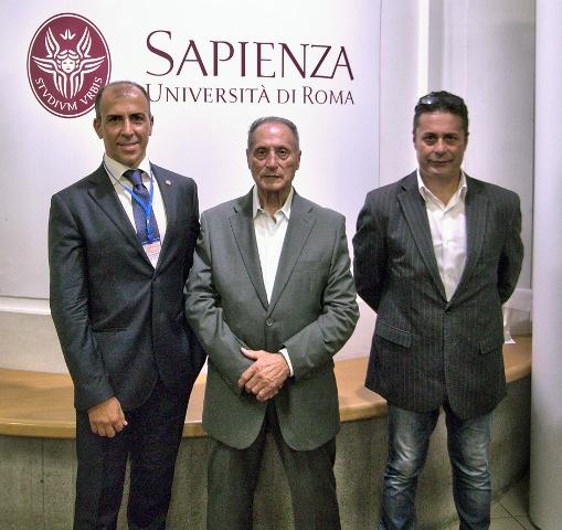 da sx a dx - prof Maselli, Mario Stravato, Riccardo Stravato - 3