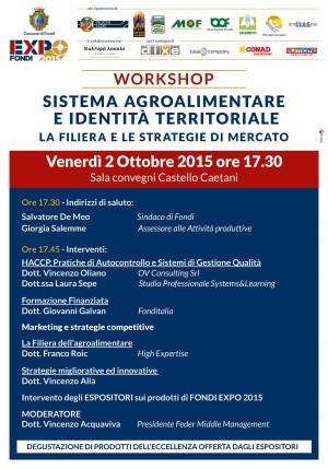 locandina Fondi Expo workshop 2-10-15