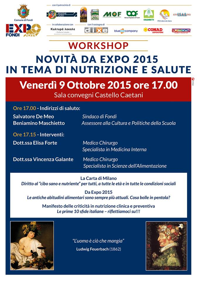 LOC. WORKSHOP FONDI EXPO 9 OTTOBRE 2015