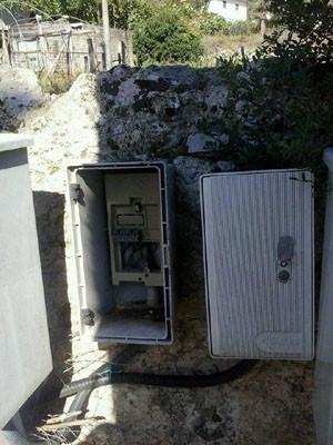 +vandali all'ex idrovora monte san biagio (2)