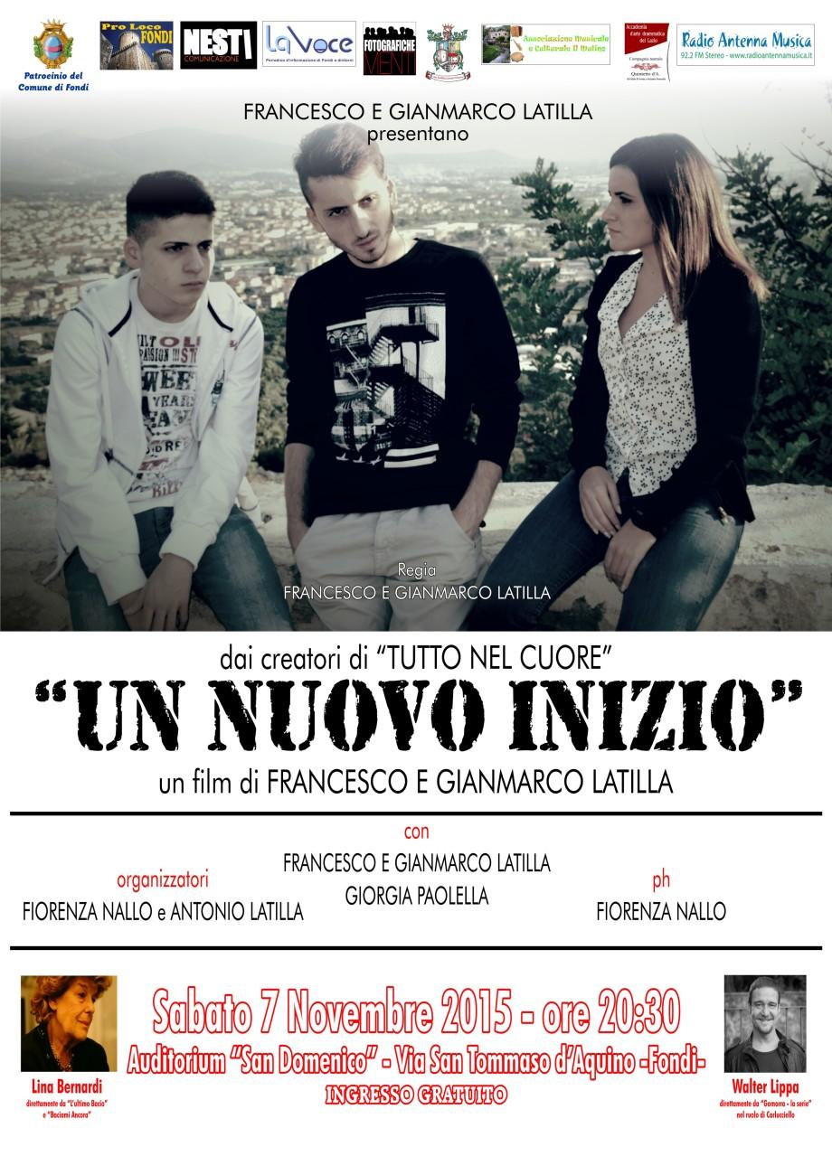 locandina presentazione film fratelli latilla - nov2015