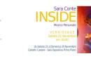 """Mostra """"INSIDE"""" di Sara Conte dal 22 al 29 Novembre 2015 nella Sala espositiva del Castello Caetani: inaugurazione Sabato 21 Novembre ore 18.00"""