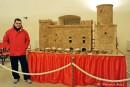 Fondi, inaugurata l'esposizione presepiale del Castello Caetani opera di Danilo Salvatori presso la Sala Giulia Gonzaga di Palazzo Caetani